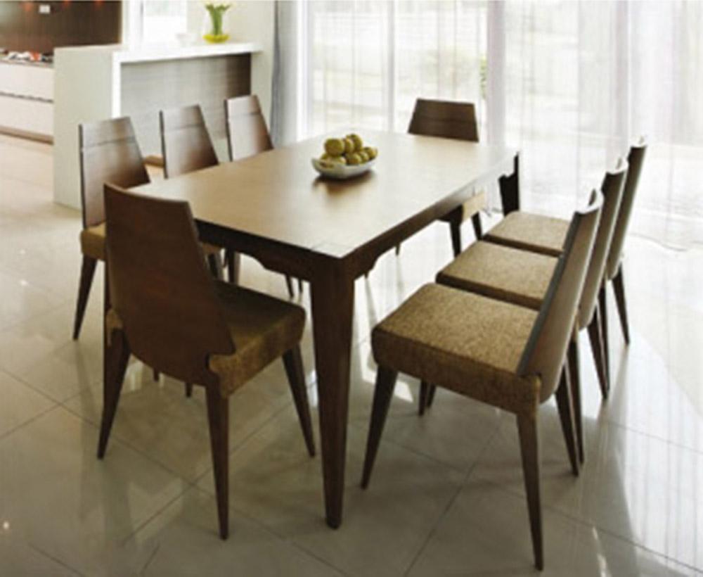 conjunto mesa de comedor y 6 sillas de madera ebay