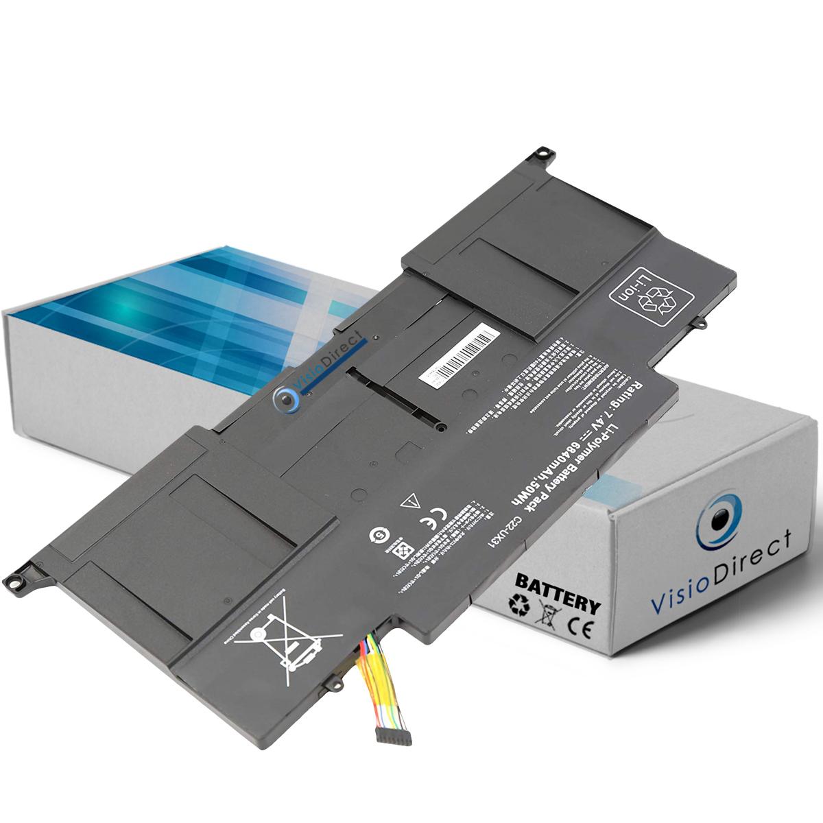 Batterie compatible avec ASUS ...