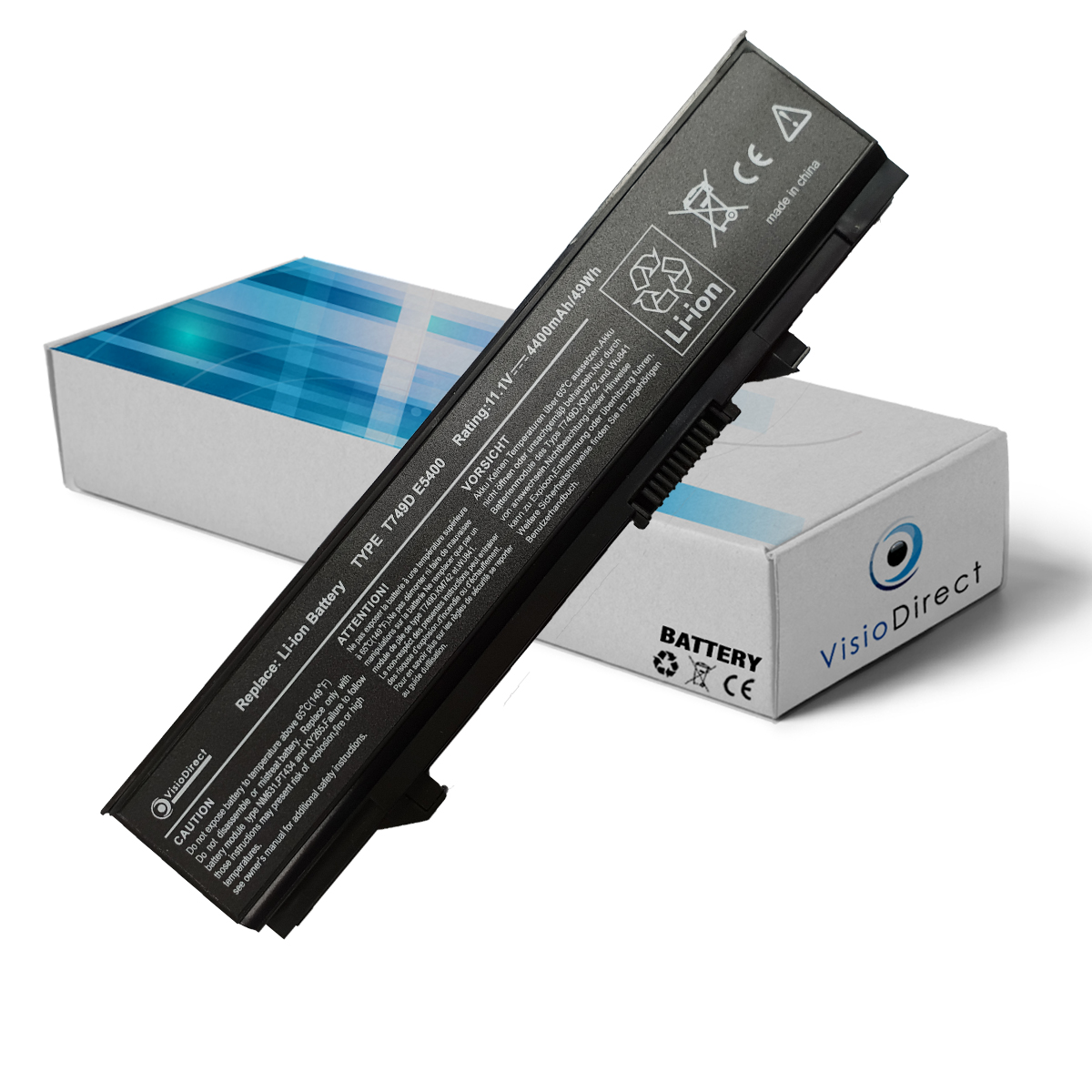Batterie type WU843 11.1V 4400...