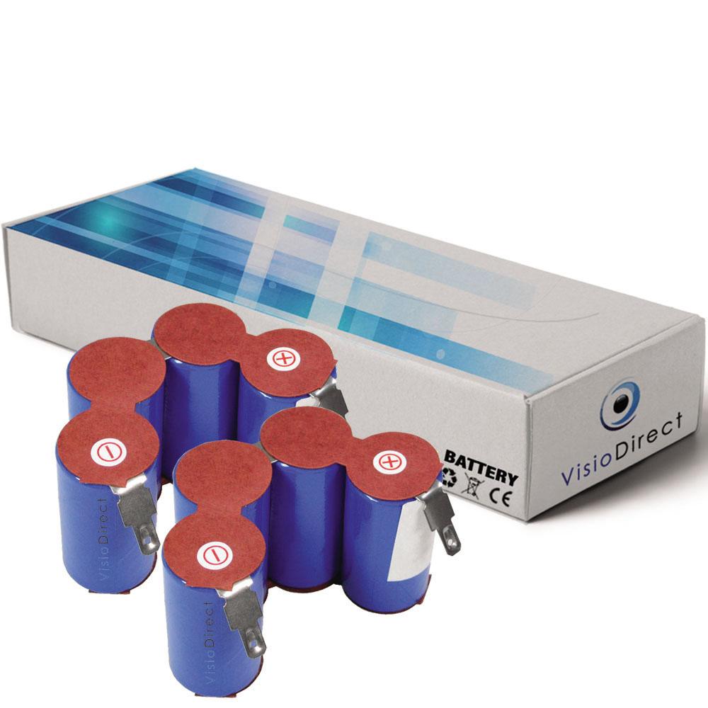 Lot de 2 batteries pour AEG as...