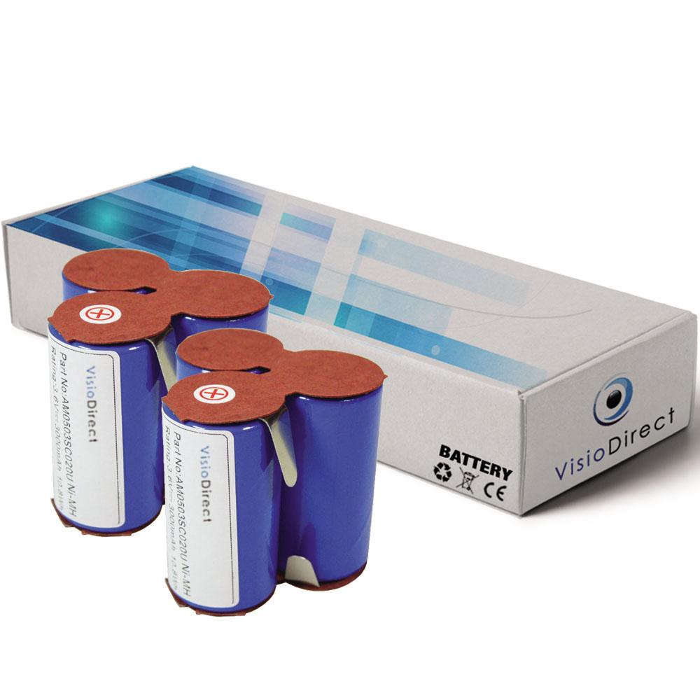 Lot de 2 batteries pour AEG El...