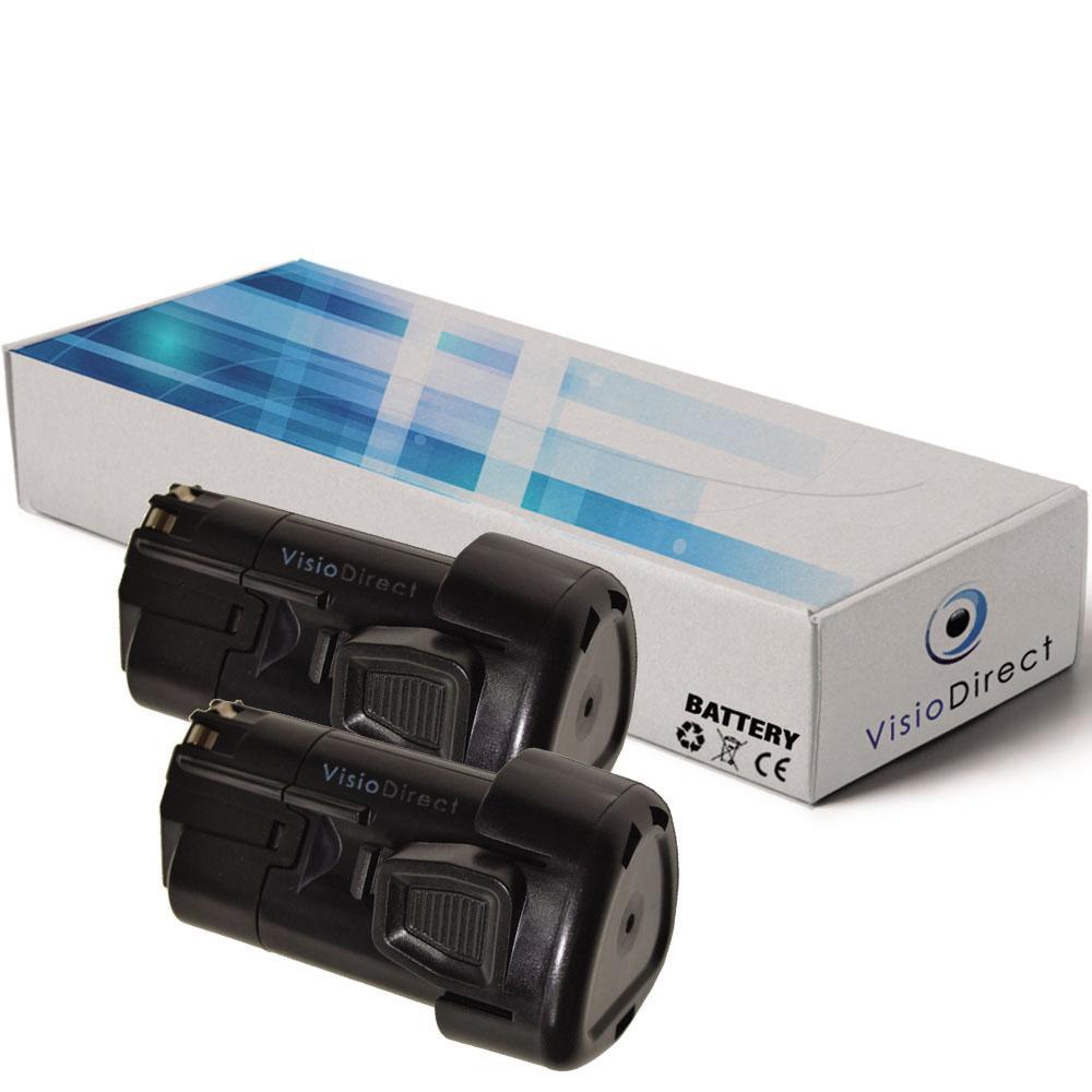 Lot de 2 batteries pour Black ...