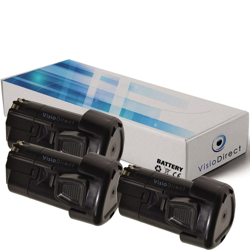 Lot de 3 batteries type BL1310...