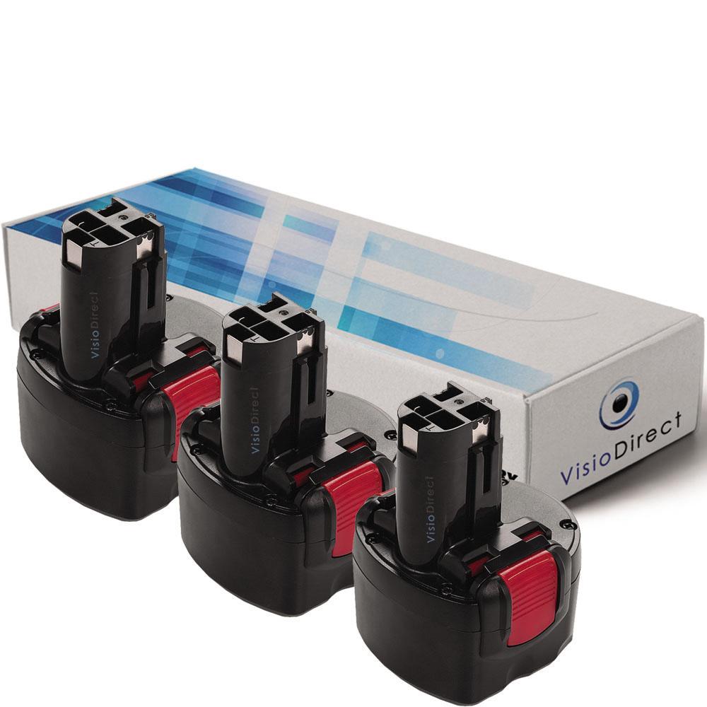 Lot de 3 batteries type 2 6073...