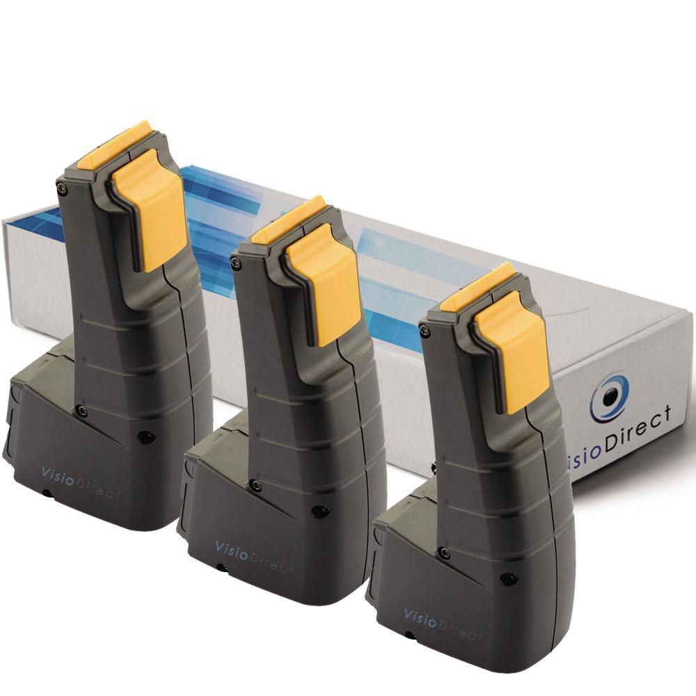 Lot de 3 batteries pour Festoo...