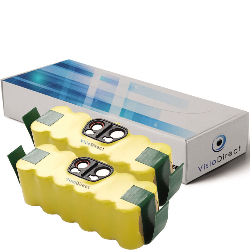 Lot de 2 batteries pour Irobot...