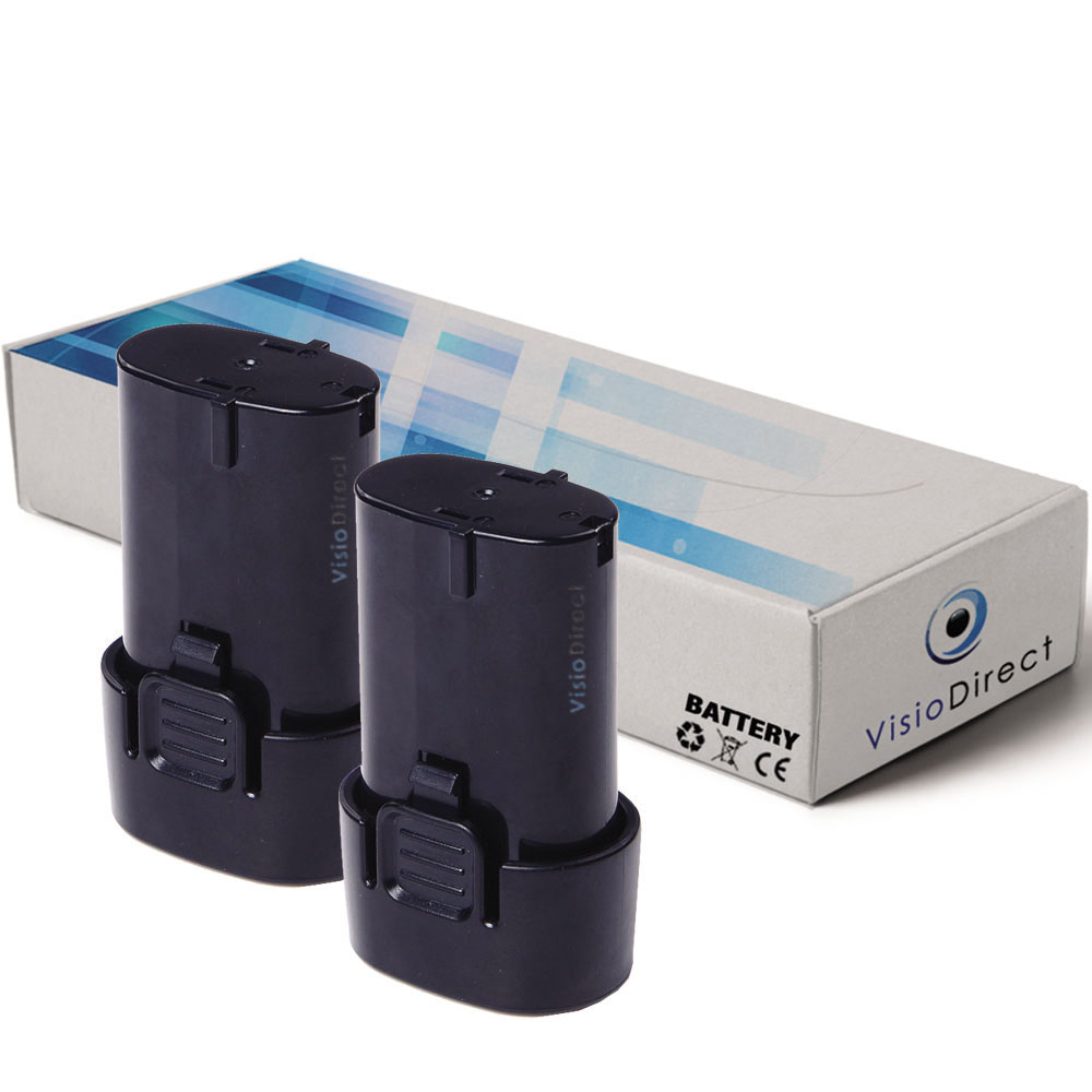 Lot de 2 batteries pour Makita...