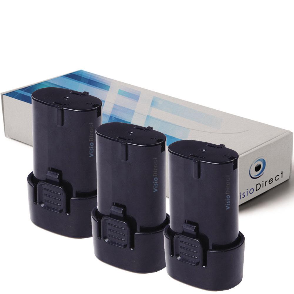 Lot de 3 batteries pour Makita...