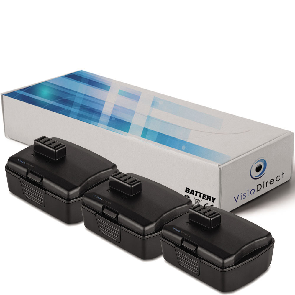 Lot de 3 batteries pour Ryobi ...