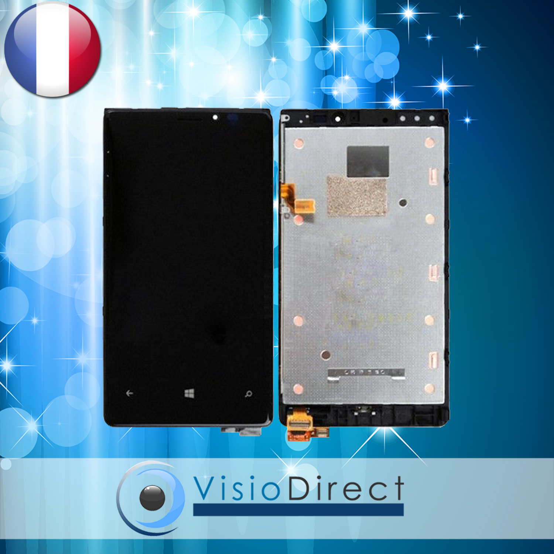 Ecran vitre complet sur chassis pour nokia lumia 920 noir for Photo ecran lumia 920